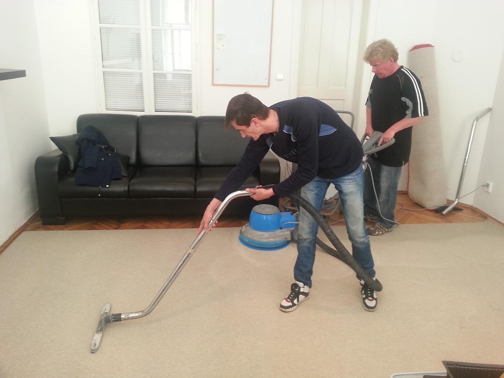 Tepovanie a čistenie kobercov