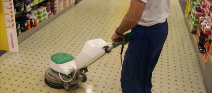 strojové čistenie podlah