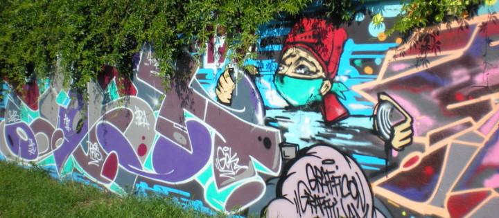 odstraněnie graffiti